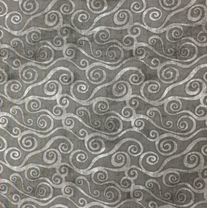 Wilmington Prints Essential Swirly Scroll Gray