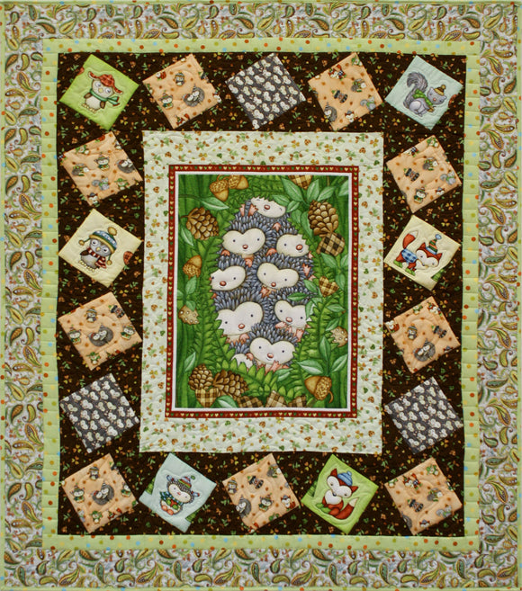Hedgehugs STORE SAMPLE QUILT - ONLY ONE AVAILABLE