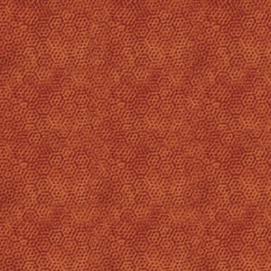 Andover Fabrics Dimples Orange/Rust