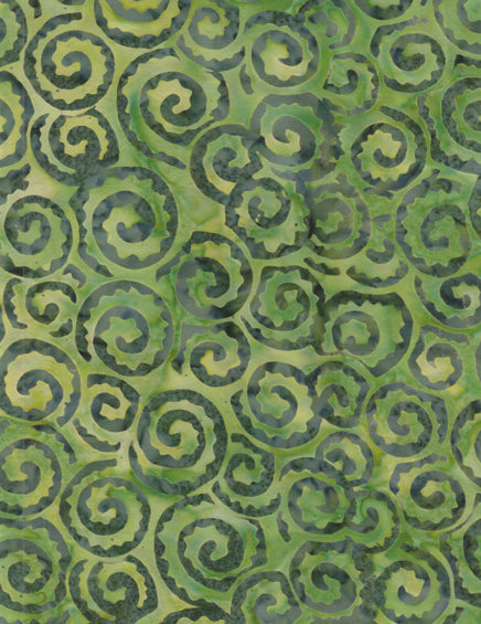Anthology Batiks Green
