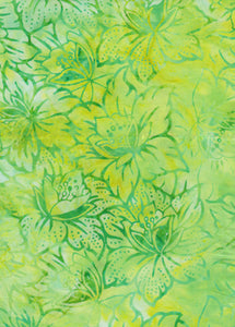Anthology Batiks Limelight