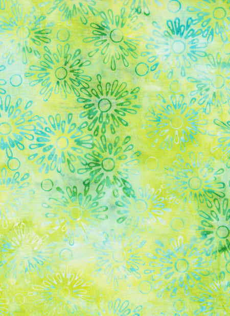 Anthology Batiks Light Lime