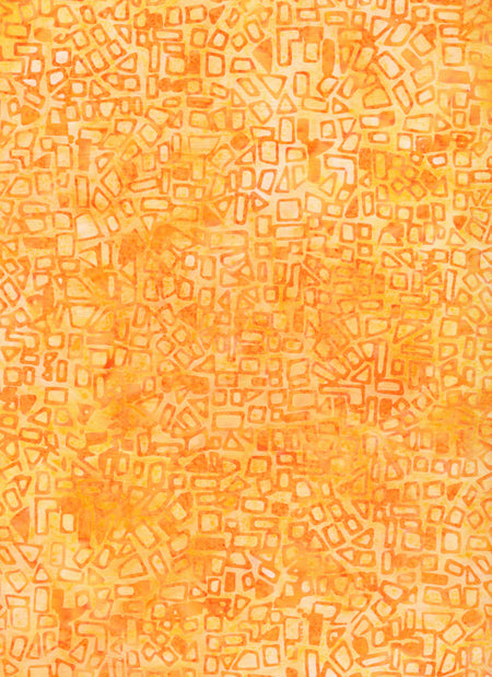 Anthology Batiks Light Orange