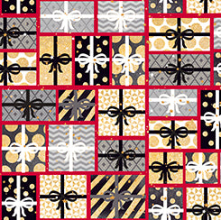 Quilting Treasures All That Glitters Red Multi