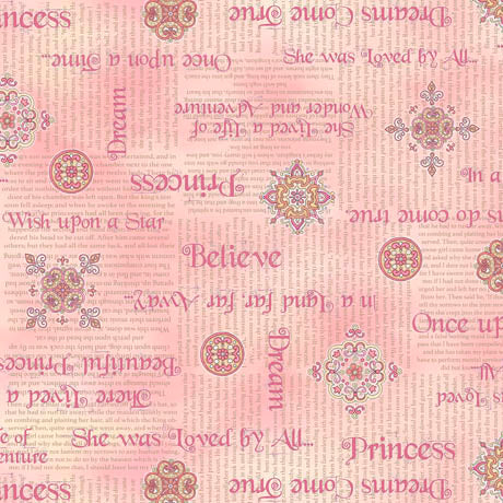 Quilting Treasures Royal Princess Pink