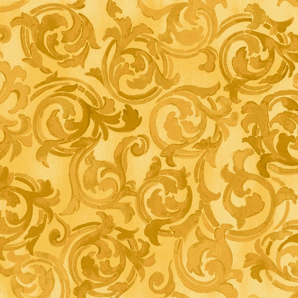 Exclusively Quilters Silver Garden Gold