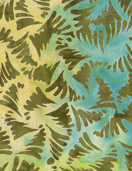 Anthology Batiks Green Multi