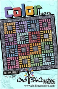 Cindi McCracken Designs Color Boxes Pattern