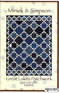 Minick and Simpson Great Lakes Patchwork Pattern