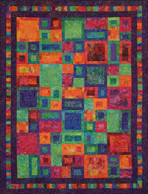 I've Been Framed Batik Quilt Kit