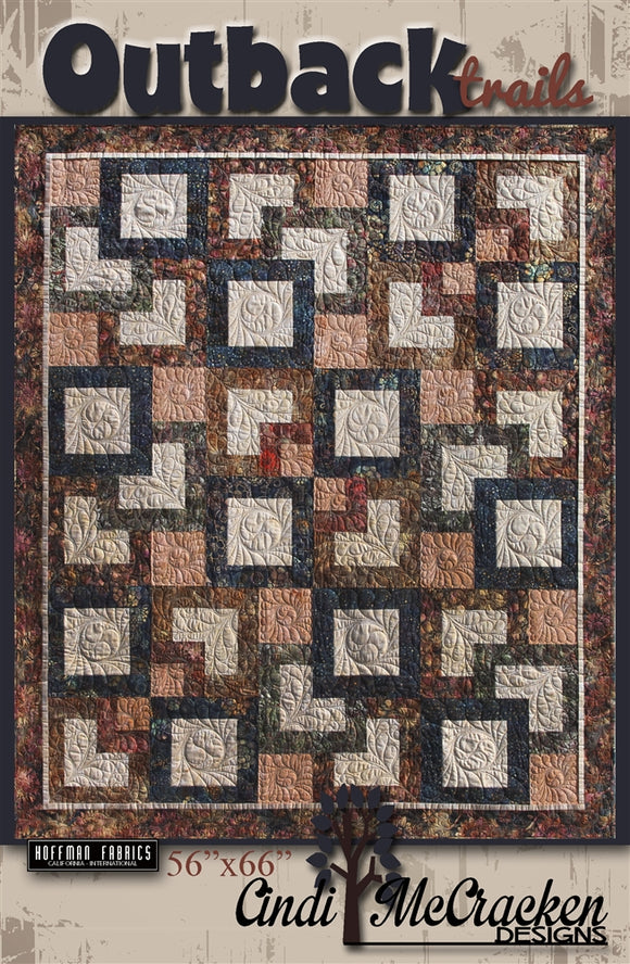 Cindi McCracken Designs Outback Trails Pattern
