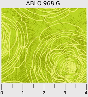 P&B Textiles Always Blooming Lime