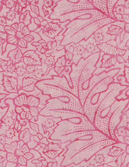 Timeless Treasures Tonga Batik Blush