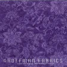 Hoffman Batiks Bali Handpaints Grape