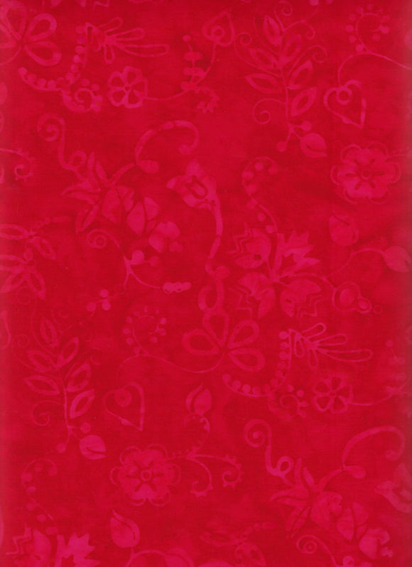 Anthology Batiks Red
