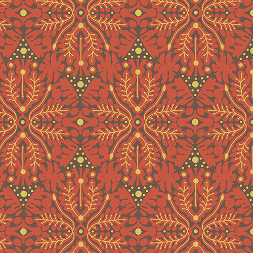 Andover Fabrics Desert Moons Orange