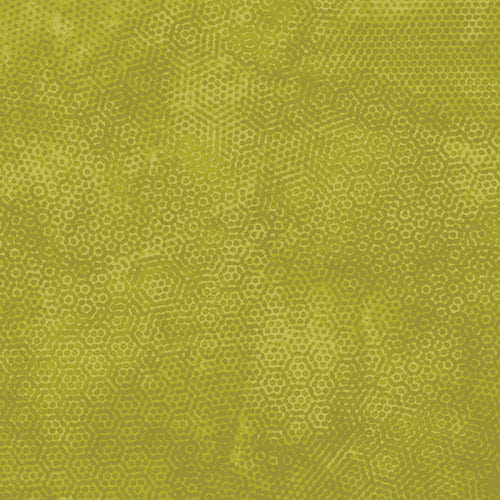 Andover Fabrics Dimples Chartreuse