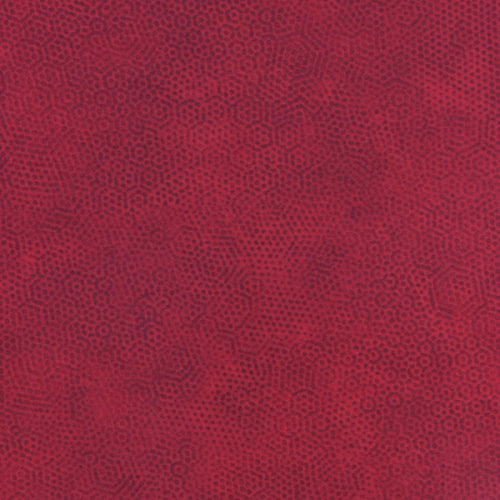 Andover Fabrics Dimples Dark Red