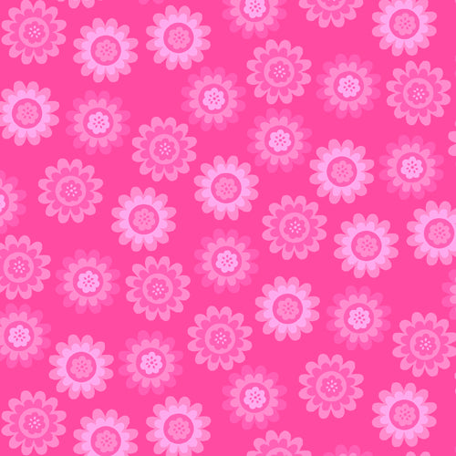 Andover Fabrics Let's Play Dolls - Summer Fun Pink