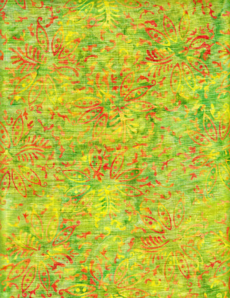 Anthology Batiks Lime