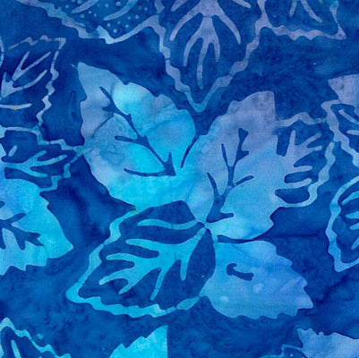 Avlyn Batiks Amber Chai Medium Blue