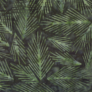 Batavian Batiks Batavian Winter Dark Green (100% Cotton Batik)
