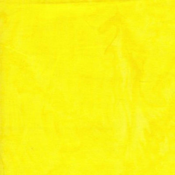 Batik Textiles Caribbean Calypso Electric Yellow