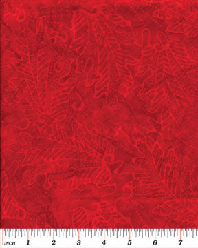 Batiks Rainforest II Balis Red
