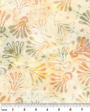 Benartex Batiks Twilight Balis Green