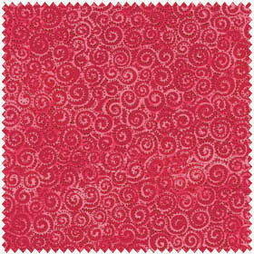 Clothworks Laurel Burch Basics Bright Red