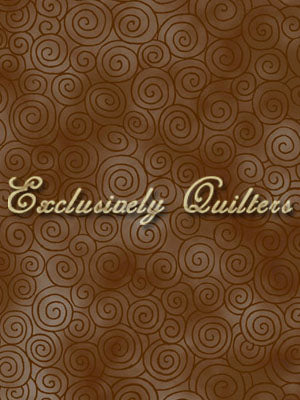 Exclusively Quilters Autumn Reflections Brown