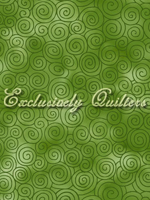 Exclusively Quilters Autumn Reflections Green