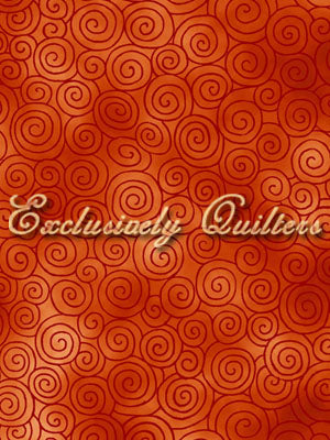 Exclusively Quilters Autumn Reflections Orange