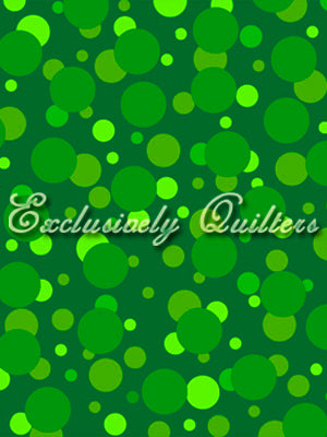 Exclusively Quilters Turtle Time Flannel Green