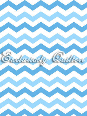 Exclusively Quilters Flamingo Road Blue