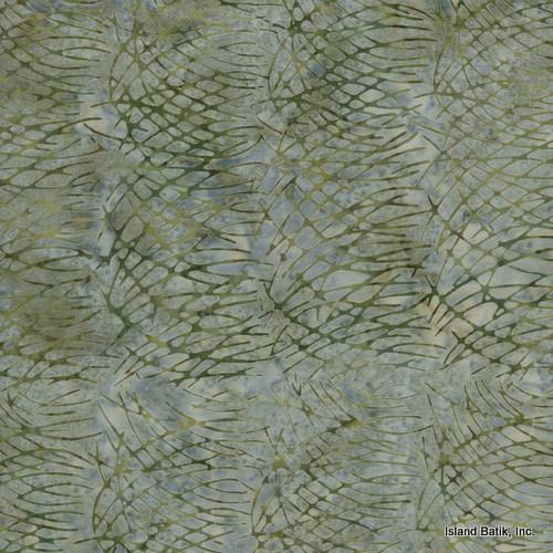 Island Batik Batik  Light Moss Green