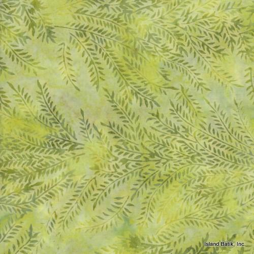 Island Batik Batik  Light Green