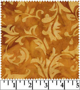 Galaxy Jasmine Batiks Orange