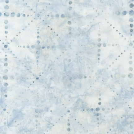 Kaufman  Batiks Elemental Coll Dotty Dot Frost