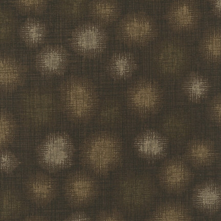 (SEE NOTE) Kaufman Quilter's Linen Dots Chocolate