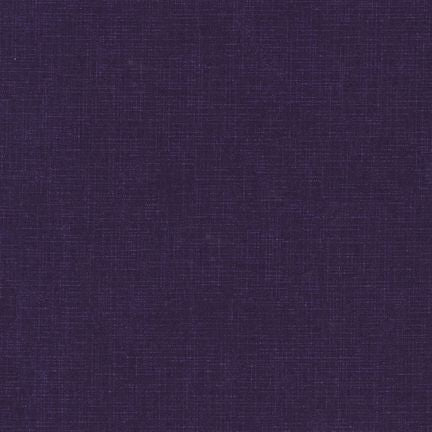 (SEE NOTE) Kaufman Quilter's Linen Purple