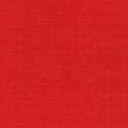 (SEE NOTE) Kaufman Quilter's Linen Red