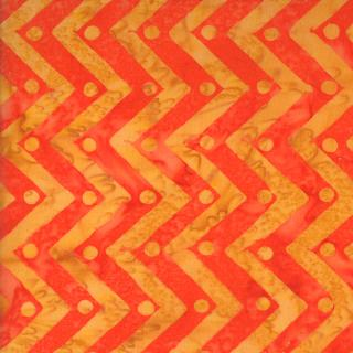 Moda Bobbins & Bits Batiks Orange