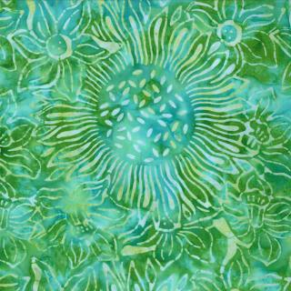 Moda Breezy Batiks Green