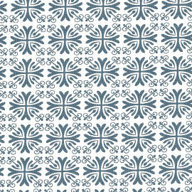 Quilting Treasures Moonflower White