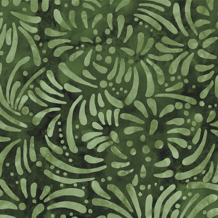 South Sea Imports Petals Green