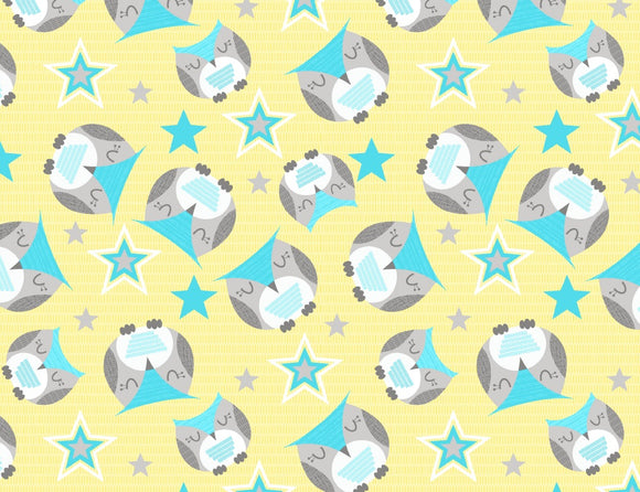 Wilmington Prints Sweet Dreams Little One Yellow Multi