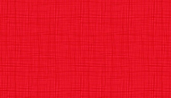 Makower Linea Texture Red