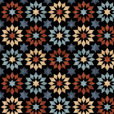Quilting Treasures Bountiful Black