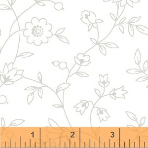 (SEE NOTE) Windham Fabrics Grace II White